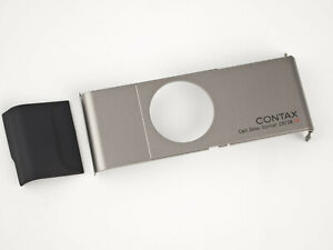 Contax T2 Front Cover - silver -  NEW Replacement Parts