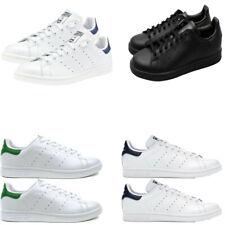 Zapatillas para hombre Adidas Originals Stan Smith Zapatos Tenis Informales Negro Blanco Talla