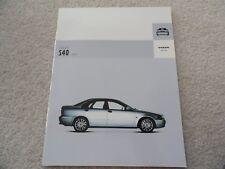 2004 Volvo S40 Sales Brochure