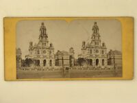 Chiesa Da La Sainte-Trinité De Paris Foto Stereo Stereoview Vintage Albumina