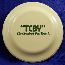TCBY The Country's Best Yogurt Vintage Advertising Frisbee Humphrey Flyer No 11