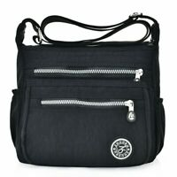 Bag Shoulder Nylon Messenger Crossbody Casual Travel Purse Satchel Handbag Beach