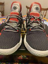 f25cedd96161 Adidas James Harden Vol 2 Lift Off Black Scarlet Grey - Size 10 - Gently  Used