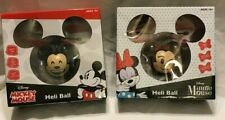 "Lot of 2 New Disney Mickey Mouse & Minnie ""Heli Ball"" Sphere Flies Up To 15'"