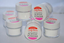 12 x Sally Hansen Acrylic Powder Teflon Strength | Clear | Wholesale