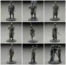 Akira Kurosawa Seven Samurai Complete 9 Figure Set Import (mono) Us Seller