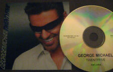 RARE Promo CD Twenty Five - George Michael & Wham Promotion CD