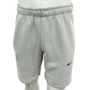 NWT NIKE AUTHENTIC TECH PACK MEN'S OFF-WHITE DRAWSTRING KNIT PULL ON SHORTS M