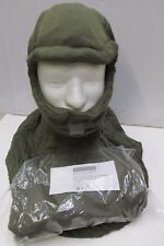 US MILITARY ISSUE COLD WEATHER NOMEX BALACLAVA HOOD OD GREEN CVC TANKER CREWMAN
