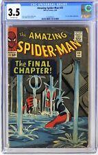 S421. AMAZING SPIDER-MAN #33 Marvel CGC 3.5 VG- (1966) Classic STEVE DITKO Cover