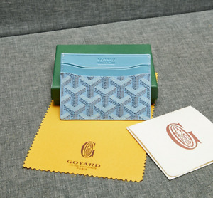 GOYARD Saint Sulpice Card Holder Wallet ( Light blue )