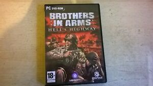 BROTHERS IN ARMS : HELL'S HIGHWAY - 2008 FPS PC GAME - FAST POST - COMPLETE VGC