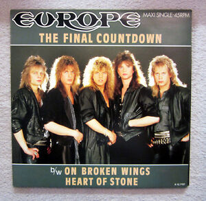 MS / EUROPE / THE FINAL COUNTDOWN / RARITÄT / 1986 /