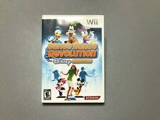 Dance Dance Revolution: Disney Grooves (Nintendo Wii, 2009) Complete!
