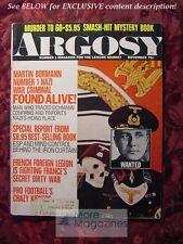ARGOSY November 1970 Nov 70 MARTIN BORMANN EMMA LATHEN