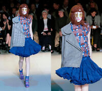 AD2007 Comme des Garcons African Artificial Picture Tops