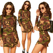 Sexy Women Casual Bandage Bodycon Long Sleeve Evening Party Cocktail Mini Dress