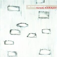 Farad KARAJEV An Introduction CD MEGADISC Modern Composition Crum Cage Xenakis