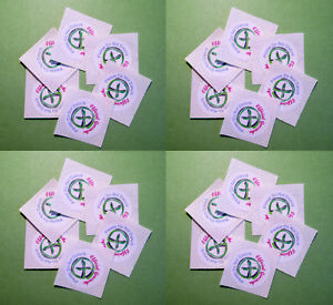 """Practical Geocaching® – 1"""" ROUND Official Geocache Labels - GX Logo - 24 pcs"""