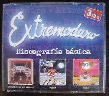 EXTREMODURO discografia basica CAJA TRIPLE CD DRO 2002*PEDRÁ / AGILA / DONDE....