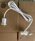 C7 Single Light Replacement Clip in Lamp Cord for Christmas Village/Blow Mold.