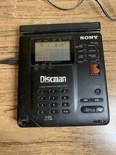 SONY  D-350  Discman Tragbarer CD  Player   Kult 90 iger