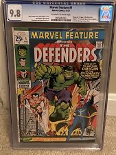 Marvel Feature #1 CGC 9.8!  1971 1st Defenders! HIGHEST Graded copy.  1 of 11 !