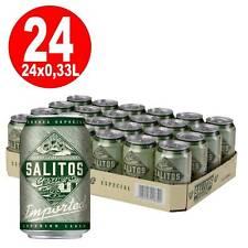 24 x 0,33L Dosen Salitos Cervezal Lagerbie Südamerika   4,7% Vol inklusi 4,51€/L