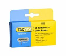 Tacwise CT-45 10mm cable staples  Boxed in 1,000