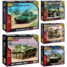 "ZVEZDA Model Kits ""Soviet Modern Military Hardware, Armed Forces, Cold war"""