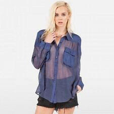 NEW VOLCOM LONG DAZE L/S WOVEN SHIRT BUTTON DOWN SMALL XX203 RP $55