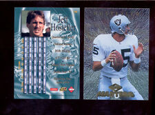 1997 CE Collectors Edge Masters JEFF HOSTETLER Oakland Raiders Card