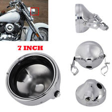 "7"" Headlight Housing Shell Mount For Harley Heritage Softail FLSTF 1986-2011"
