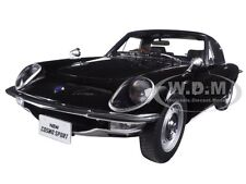 MAZDA COSMO SPORT BLACK 1:18 DIECAST MODEL CAR BY AUTOART 75937