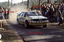 Sarel van der Merwe Audi Quattro A2 Portugal Rally 1984 Photograph 1