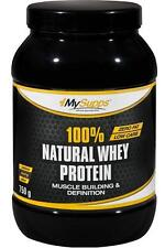 (27,99 ? / kg) My Supps 100% Natural Whey Protein - 750g