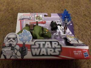 New Playskool Star Wars Galactic Heros Dewback & Stormtrooper Playset
