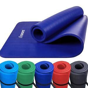 ScSPORTS® Gymnastikmatte Fitnessmatte Yogamatte Turnmatte 190 x 100 x 1,5 cm