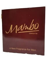 Liz Claiborne MAMBO Eau De Parfum Toilette Splash Cologne Men Sample Vial New