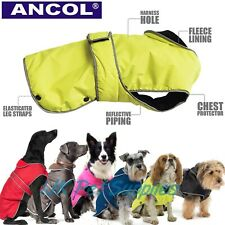 Ancol Muddy Paws Stormguard Dog Puppy Waterproof Harness Fleece Rain Jacket Coat