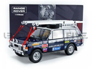 ALMOST REAL 1/18 - RANGE ROVER RANGE - BRITISH TRANS AMERICAS EXPEDITION - ALM81