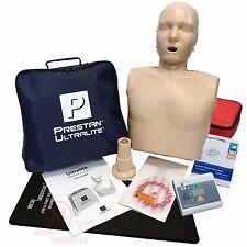 Basic CPR Training Kit with Prestan Ultralite CPR Manikin & WNL AED Essentials