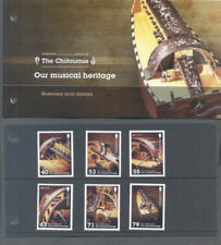 Guernsey-Musical instruments set and Pack mnh-2014