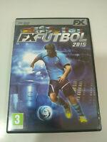 Fx Fussball 2015 Set Für PC Dvd-Rom Spanisch