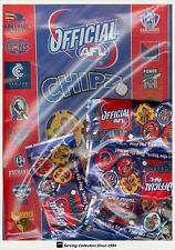 2008 Topps AFL Poker Chipz Official Album ( With 4 bonus packs)