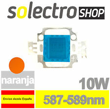 Diodo LED COB 10W NARANJA SMD POWER LED YELLOW P0034