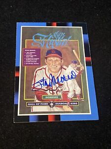 Stan Musial Donruss St Louis Cardinals #665 Autograph Baseball Card Lot773