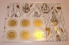 FRAGONARD perfume FRANCE christmas holiday birthday wrapping paper & stickers