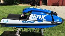 kawasaki 550 sx jet ski wrap graphics pwc stand up jetski decal kit blue racing