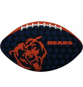 NEW NFL CHICAGO BEARS TEAM - JUNIOR FOOTBALL - BLUE/ORANGE